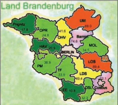 Borreliose – Epidemiologie (unter besonderer Berücksichtigung des Bundeslandes Brandenburg)